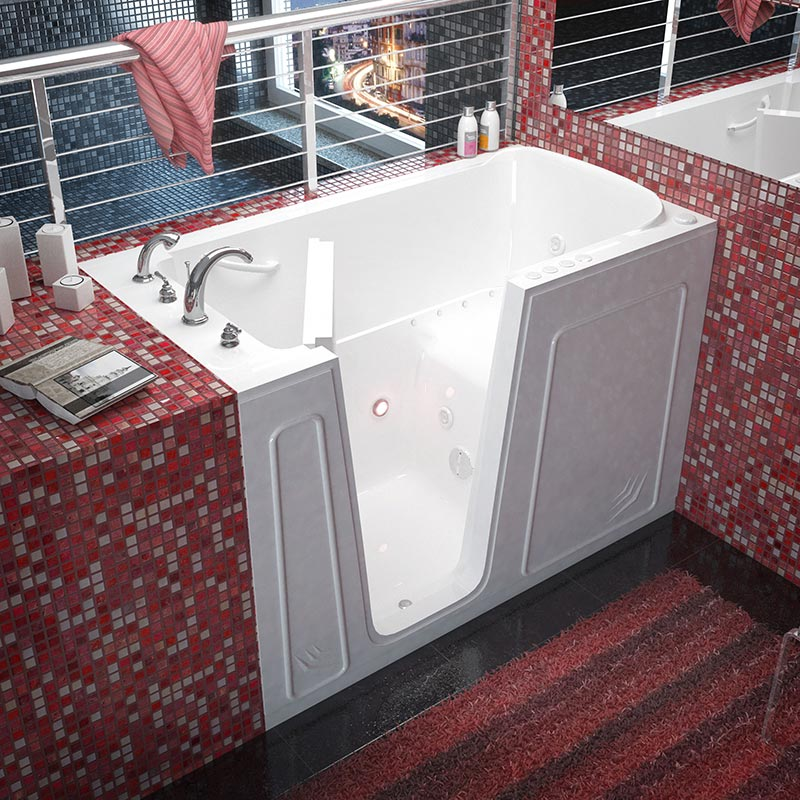extra large walk in tub. Click Here To See More Details  Acrylic Models WalkIn Tubs of America